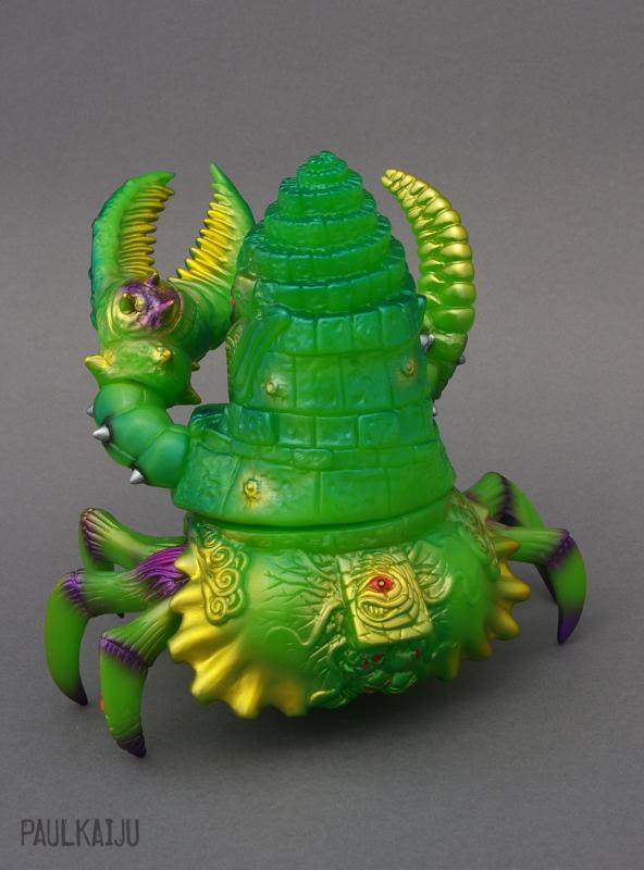 King Jinx paulkaiju green back