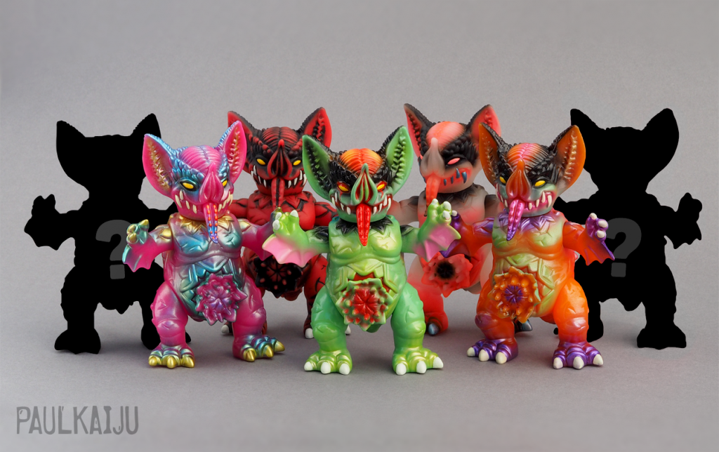 blind bag mini mockbat group PAULKAIJU