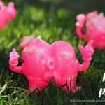 Popo Von Poomz SDCC Exclusive Glow and Pink Marble